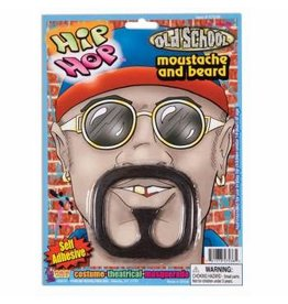 Forum Novelties Inc. Rap Star Moustache and Beard
