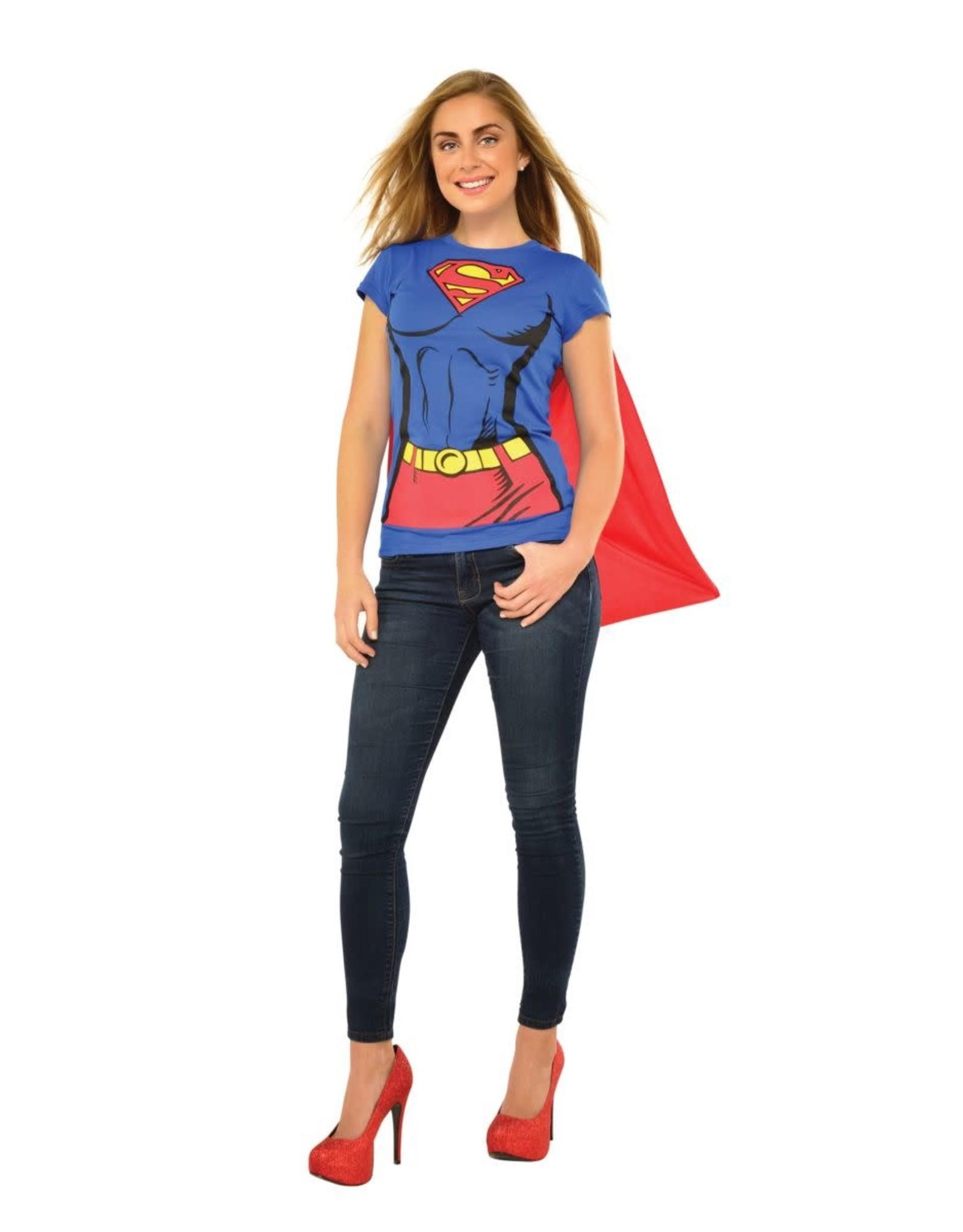 Rubies Costume Supergirl T-Shirt w/Cape