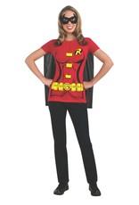 Rubies Costume Robin T-Shirt w/Cape