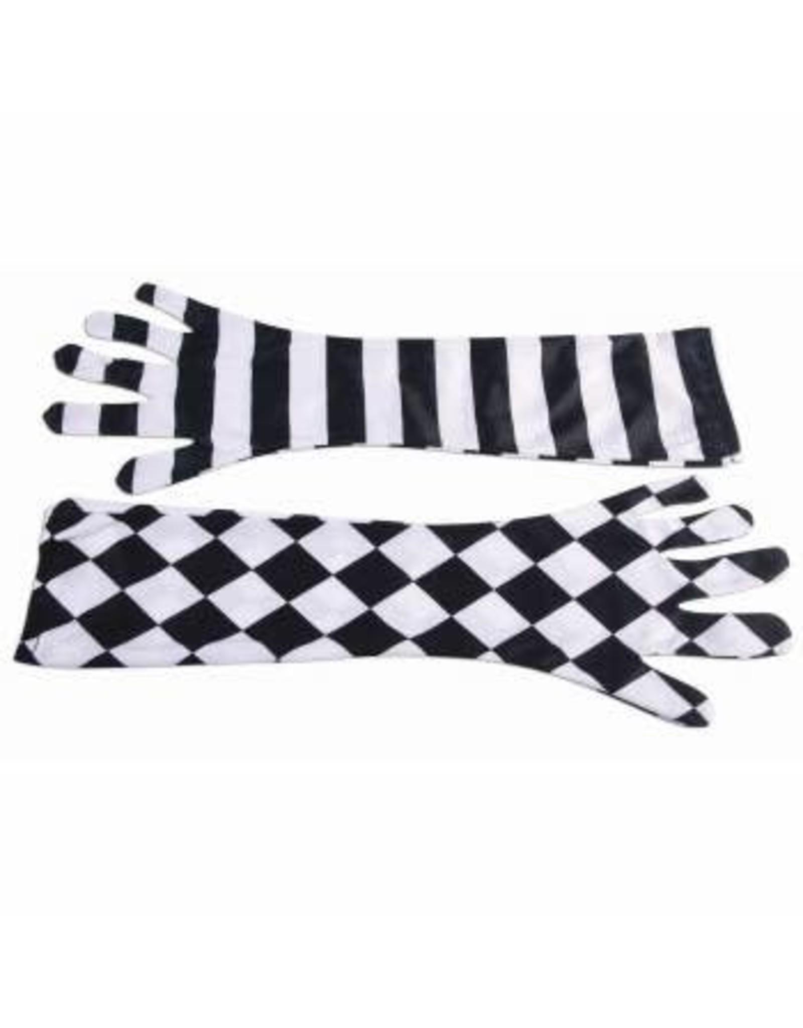 Forum Novelties Inc. Harlequin Clown Gloves