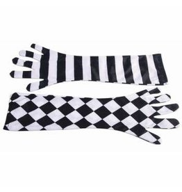 Forum Novelties Inc. Harlequin Clown Gloves