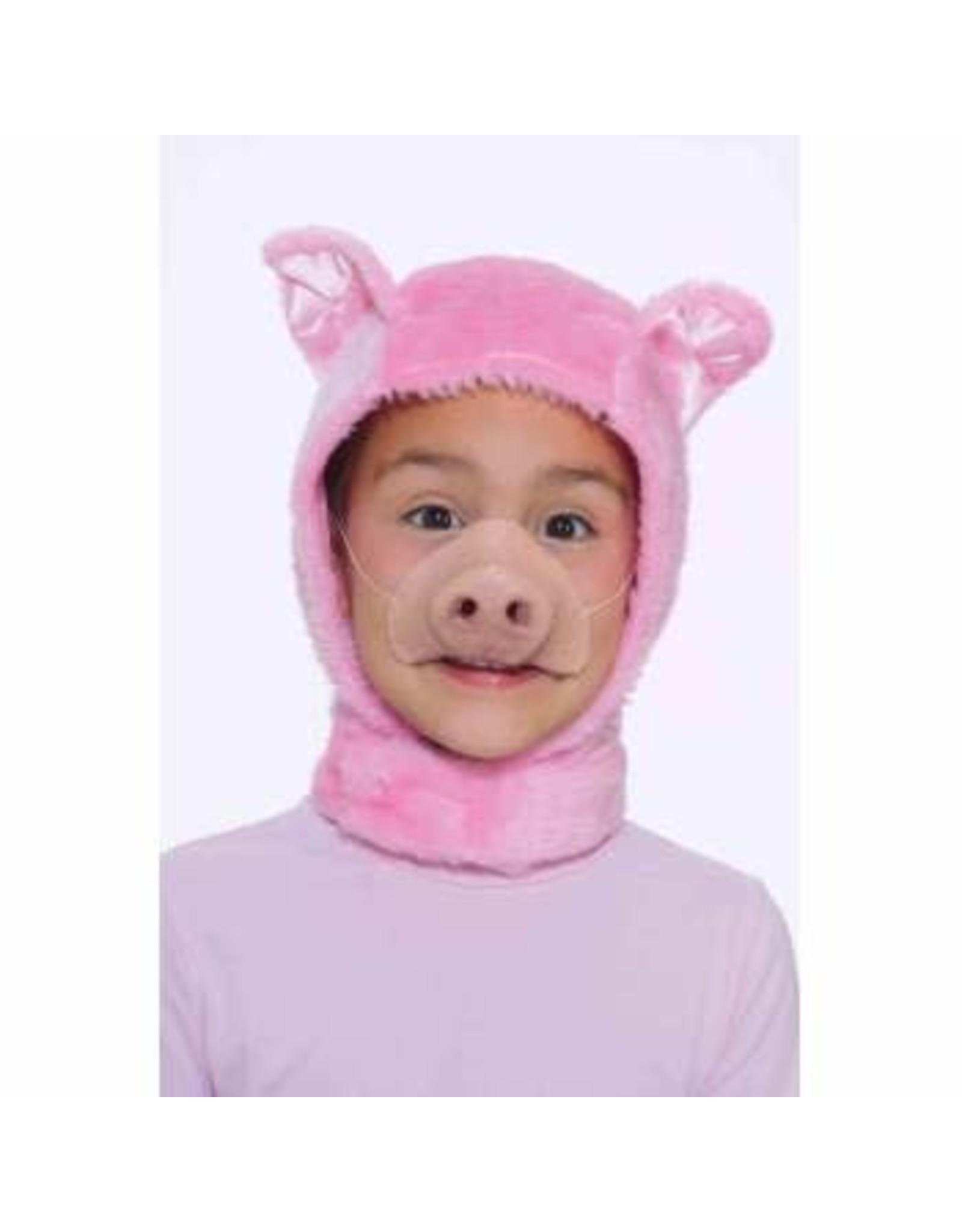 Forum Novelties Inc. Child Piglet Hood and Nose