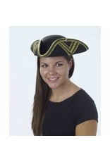 Forum Novelties Inc. Gold Trimmed Tri Corner Hat