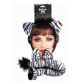 Forum Novelties Inc. Zebra Kit with Bow Tie