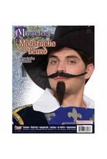 Forum Novelties Inc. Musketeer Moustache and Beard