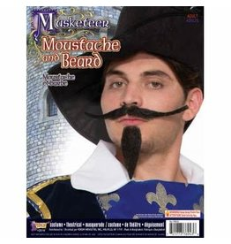 Forum Novelties Inc. Musketeer Moustache and Beard