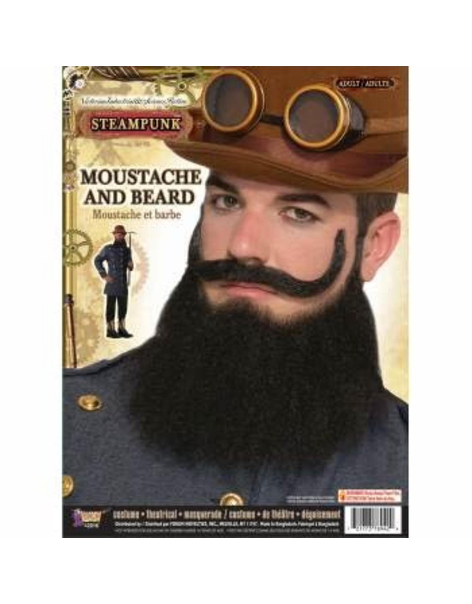 Forum Novelties Inc. Steampunk Moustache and Beard