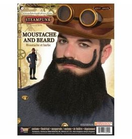 Forum Novelties Inc. Steampunk Moustache and Beard