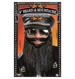 "Forum Novelties Inc. 8"" Biker Beard and Moustache"