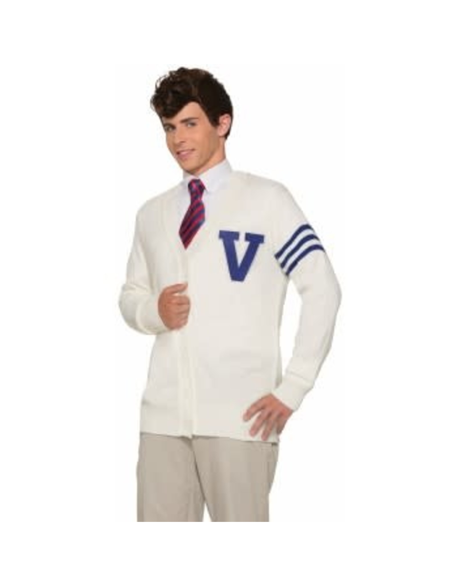 Forum Novelties Inc. 50's Varsity Sweater