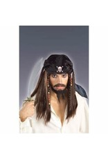 Forum Novelties Inc. Pirate Wig and Scarf