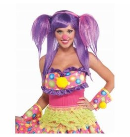 Forum Novelties Inc. Circus Sweetie Berry Bubbles Wig