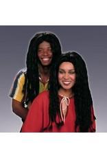 Forum Novelties Inc. Black Braided Wig