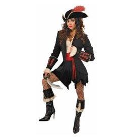 Forum Novelties Inc. Black Pirate Wrist Cuffs