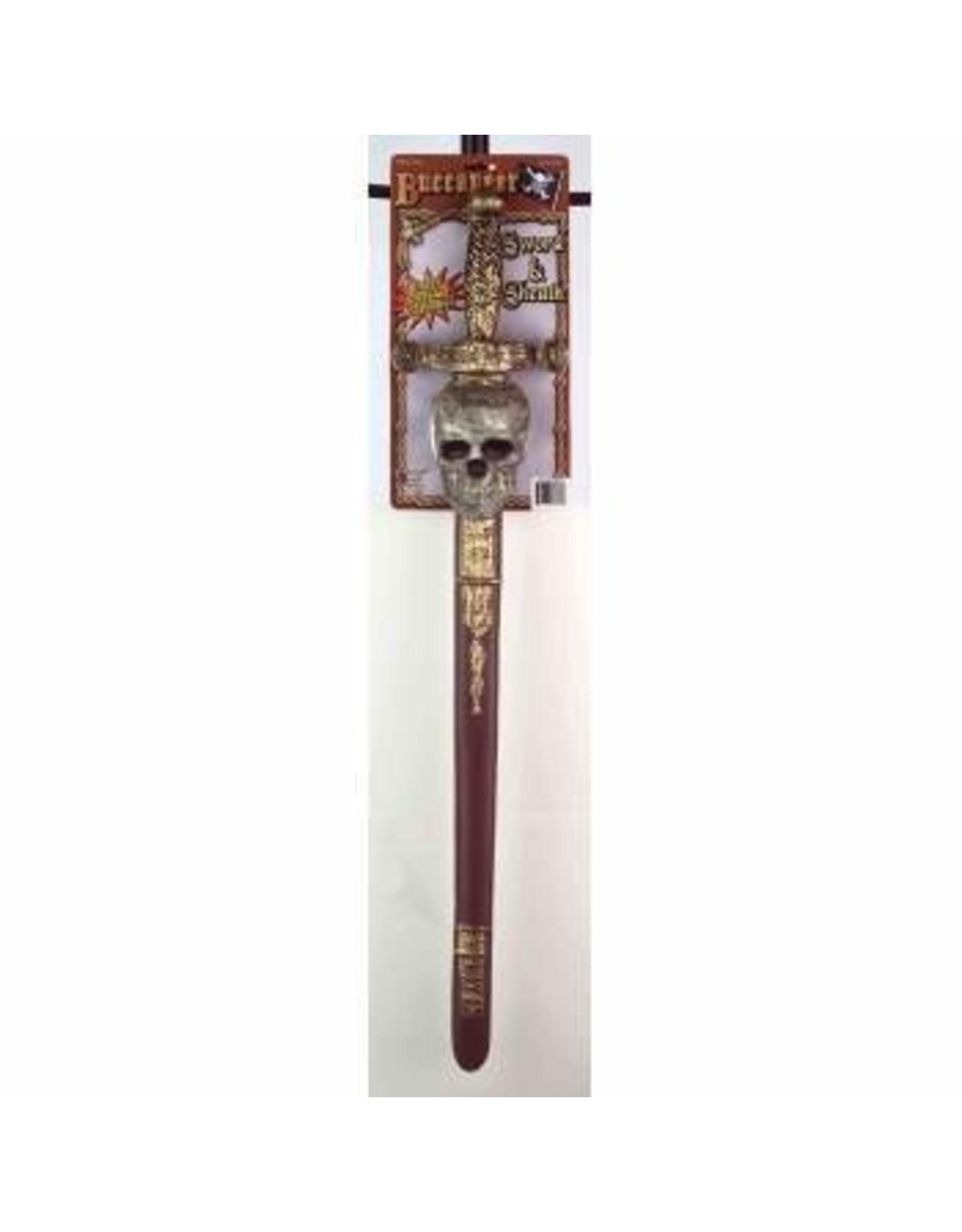 Forum Novelties Inc. Buccaneer Skull Sword and Sheath