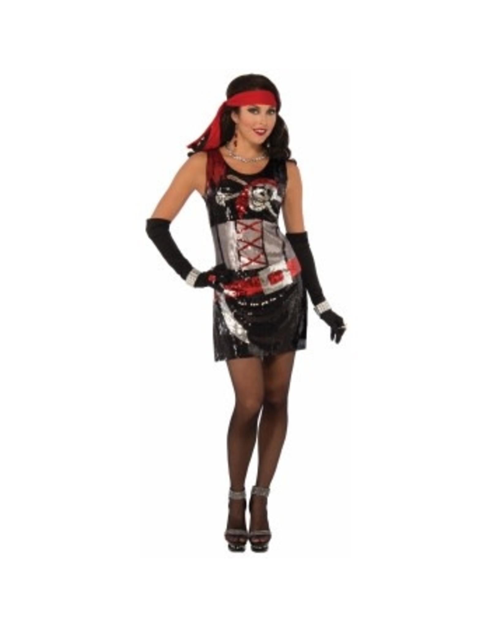 Forum Novelties Inc. Sequin Pirate Dress