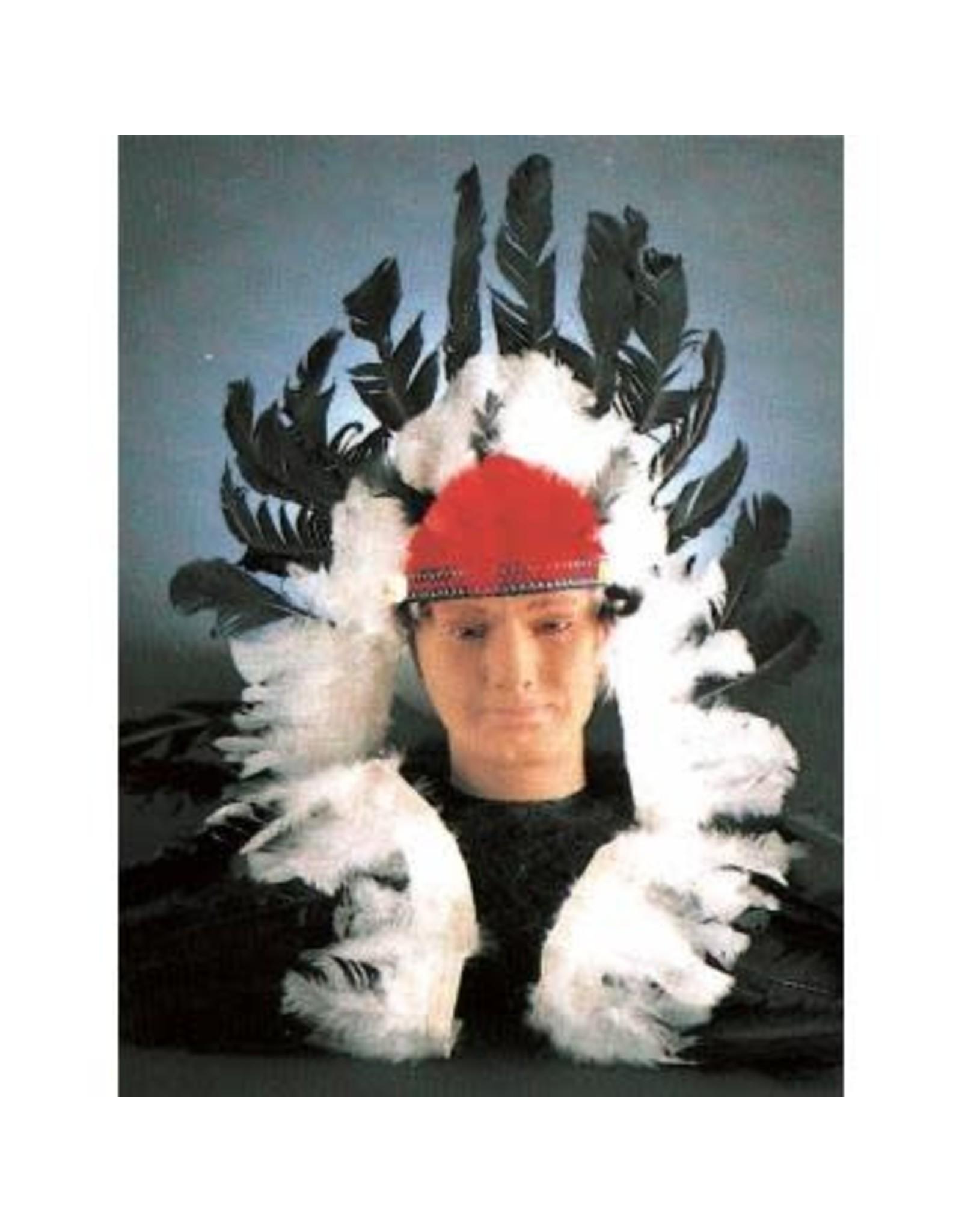 Forum Novelties Inc. Deluxe Black and White Headdress