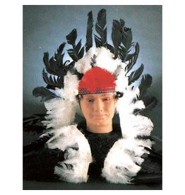 Forum Novelties Inc. Black and White Headdress