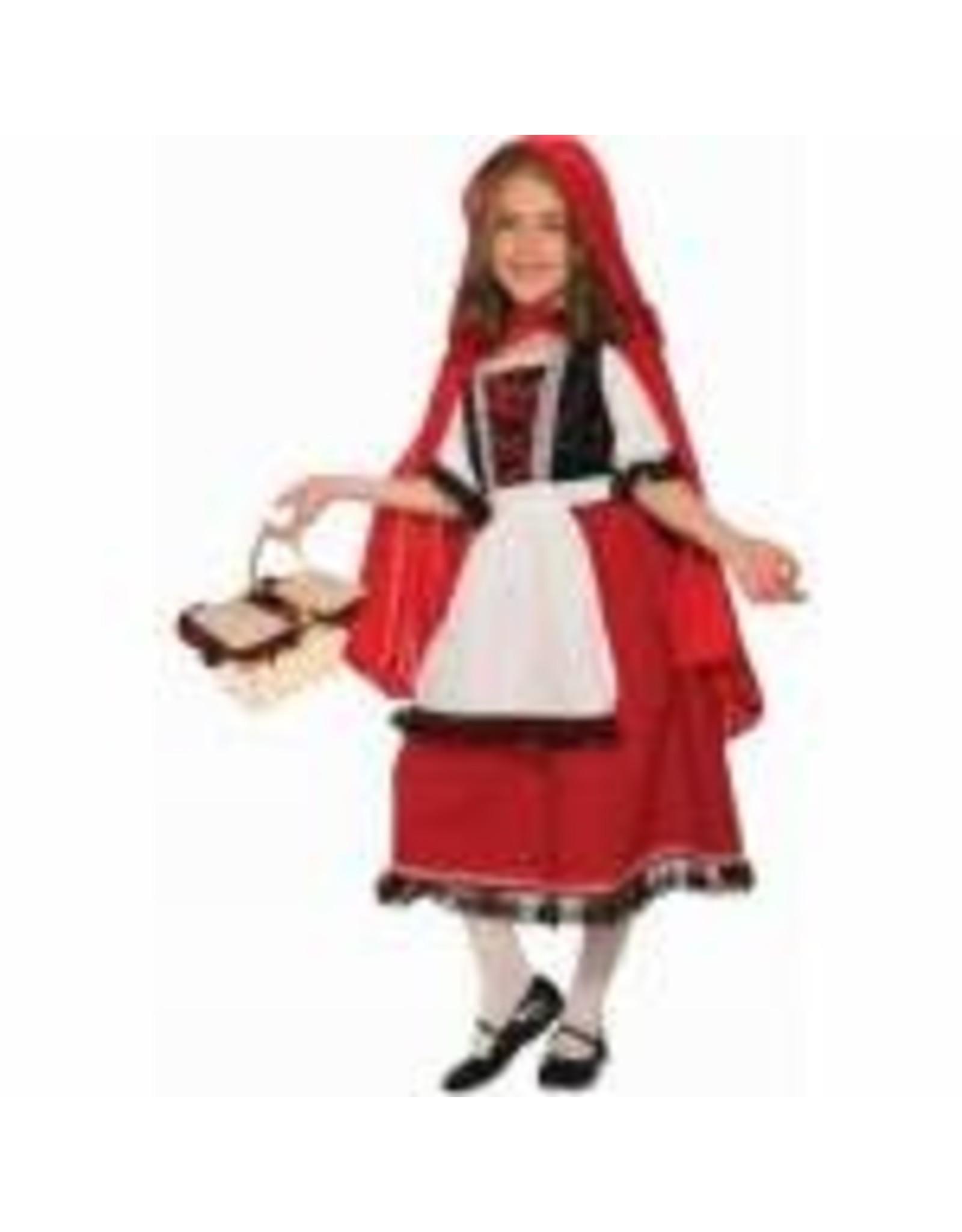 Forum Novelties Inc. Children's Deluxe Red Riding Hood