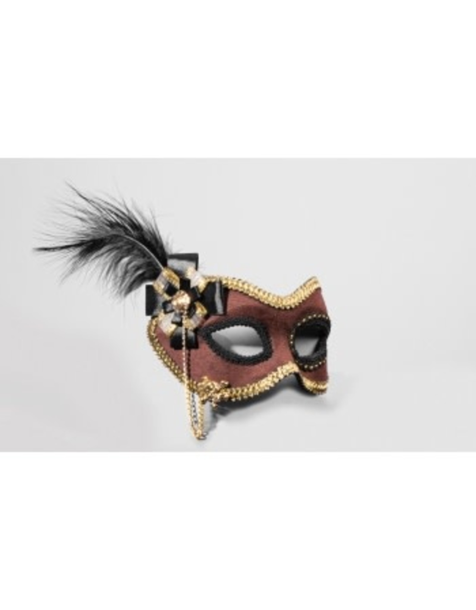 Forum Novelties Inc. Brown Suede Mask