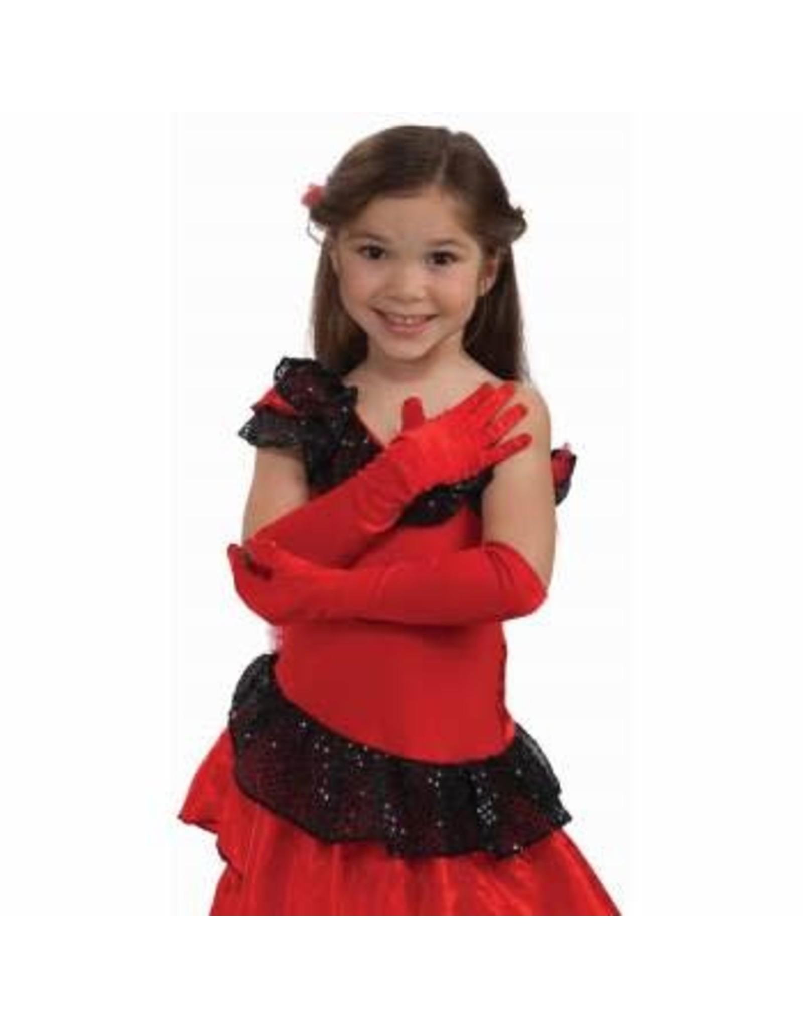 Forum Novelties Inc. Children's Opera Length Satin Gloves