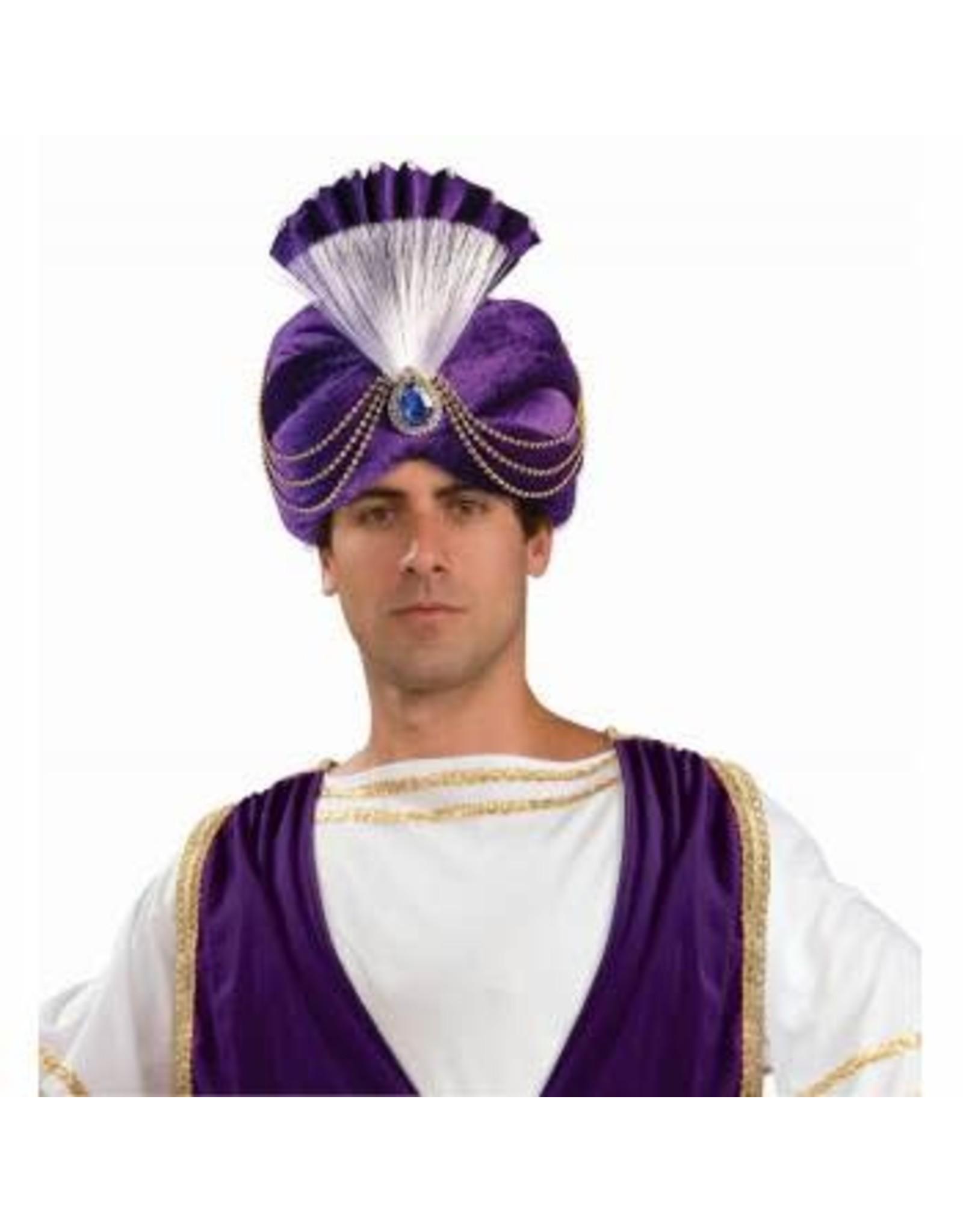 Forum Novelties Inc. Purple Sultan Turban