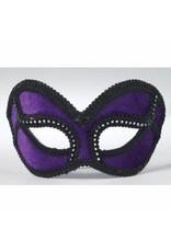 Forum Novelties Inc. Velvet Venetian Half Mask