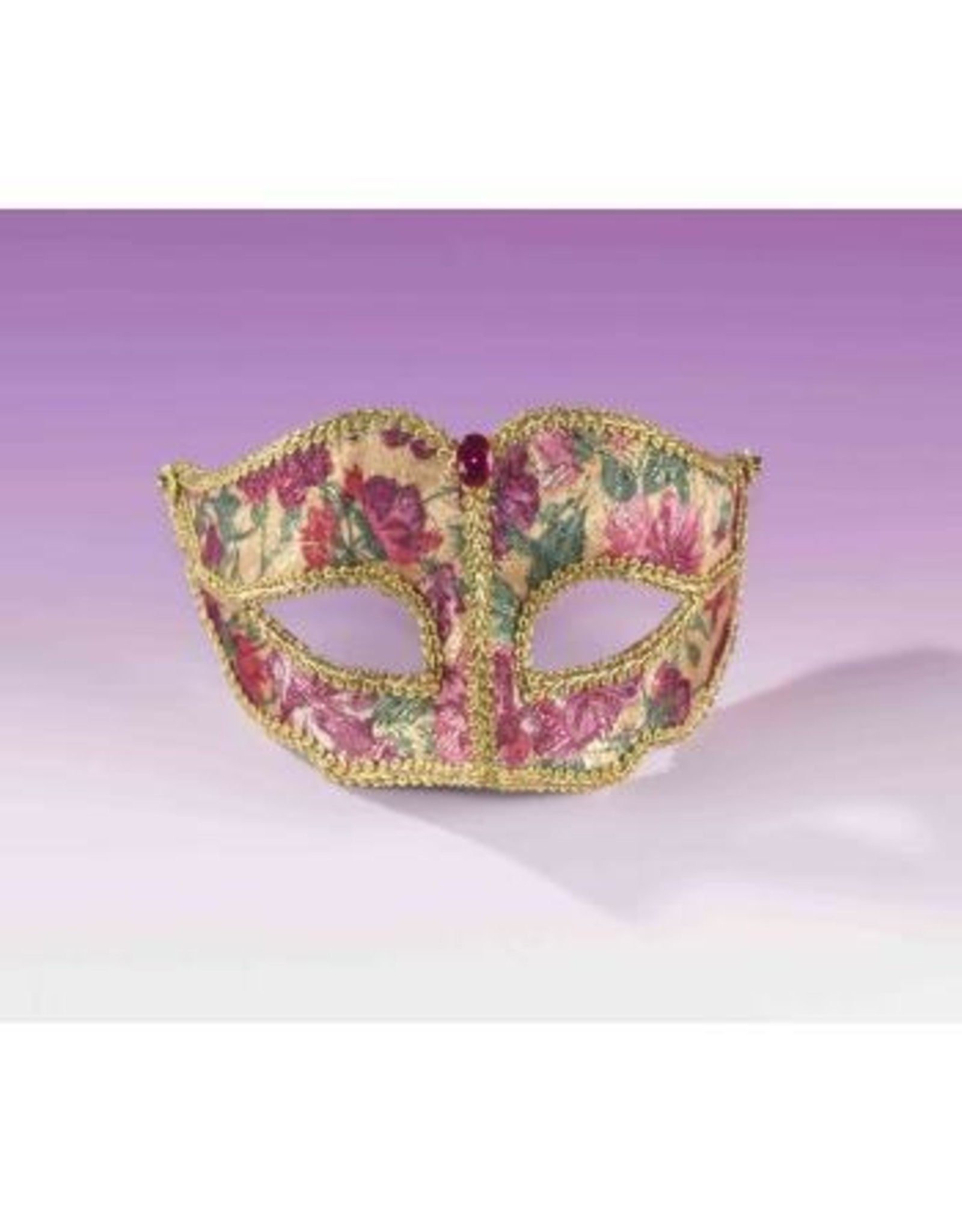 Forum Novelties Inc. Floral Venetian Mask