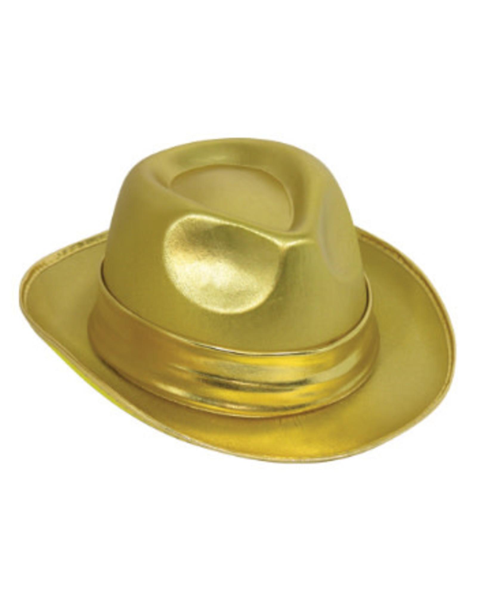 Forum Novelties Inc. Gold Fedora