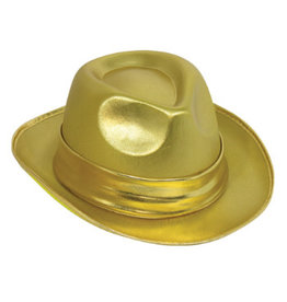 Forum Novelties Inc. Gold Fedora