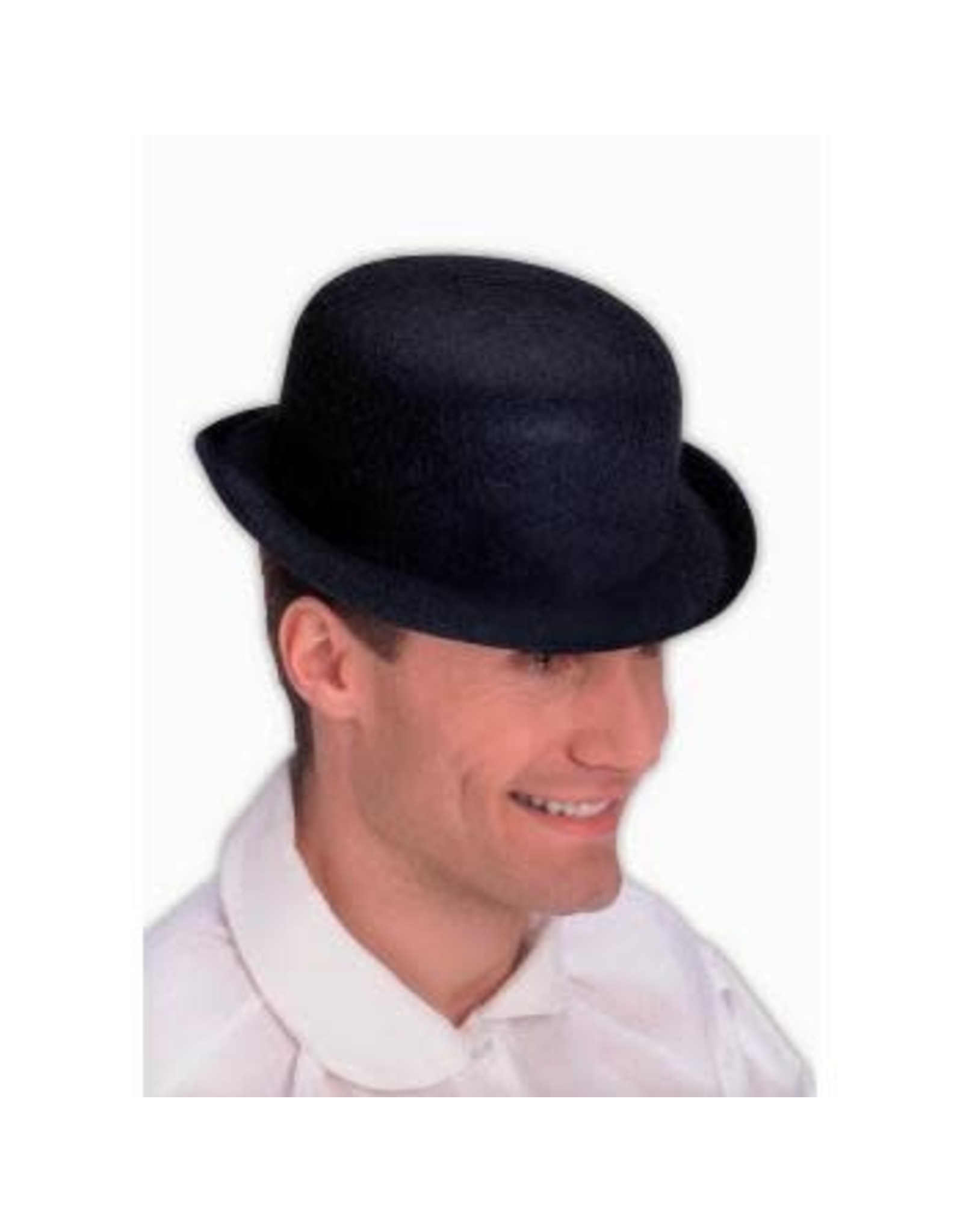 Forum Novelties Inc. Black Derby Hat