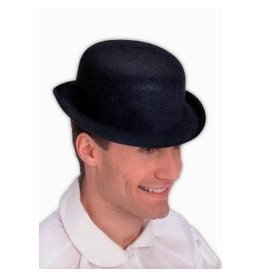Forum Novelties Inc. Black Derby Hat