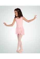 Body Wrappers Children's Tank Leotard with Skirt