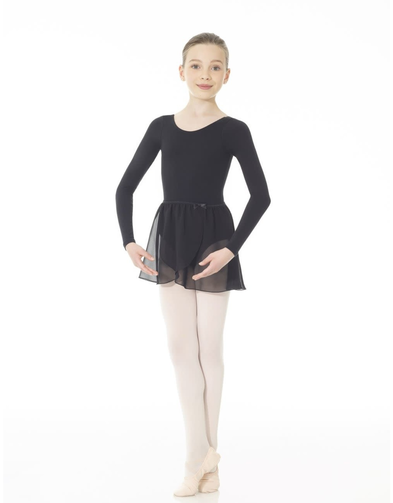 Mondor Children's Pull-On Chiffon Wrap Skirt