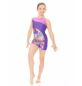 Mondor Children's Solid and Printed Metallic Unitard