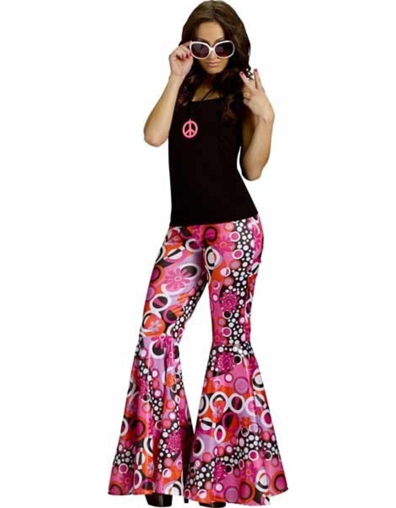 Fun World Groovy 60's Bell Bottom Pants