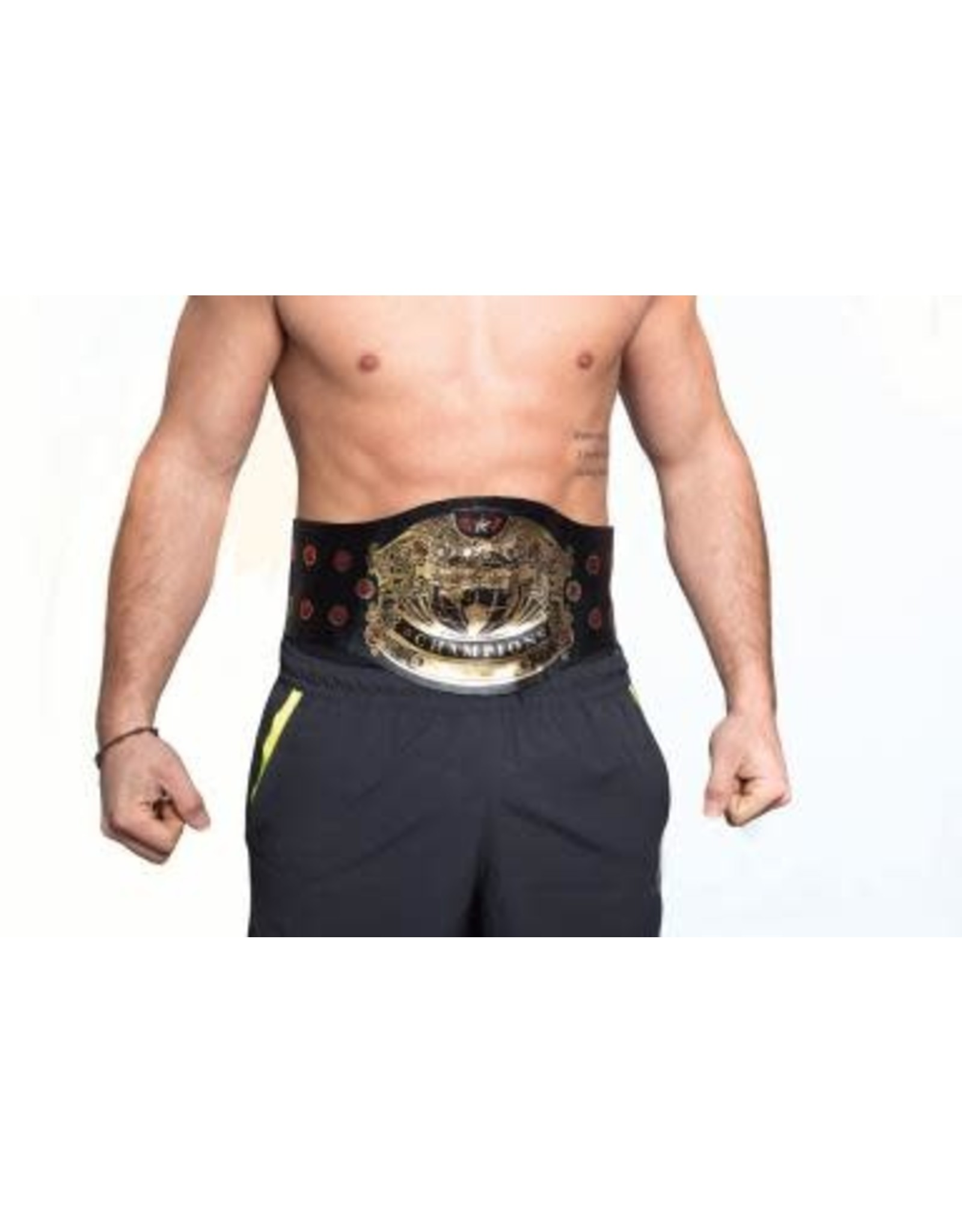HM Smallwares Champion Wrestling Belt