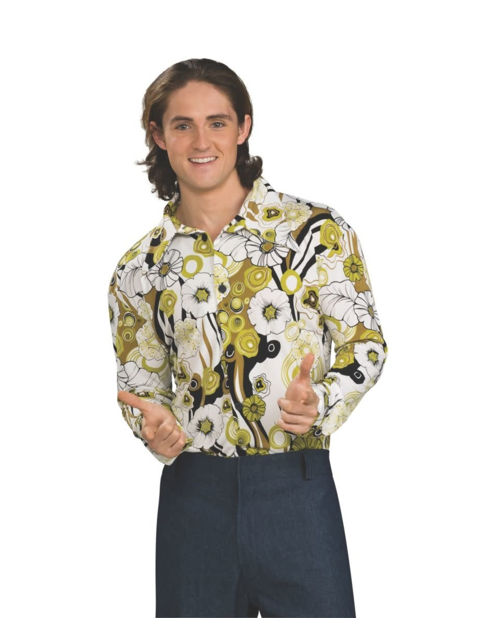 Rubies Costume Groovy Shirt