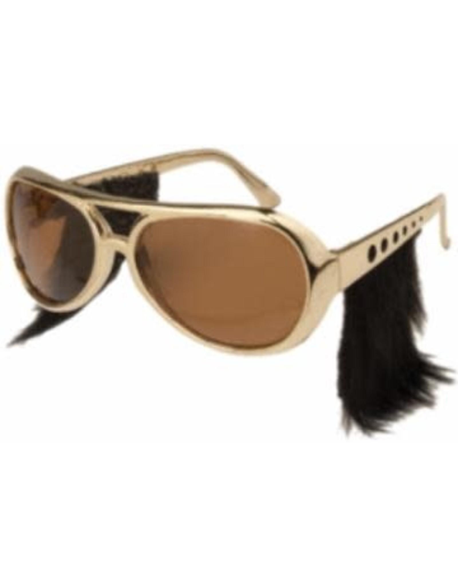 SKS Novelty Glasses w/Sideburns