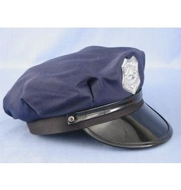 HM Smallwares Police Hat w/Badge