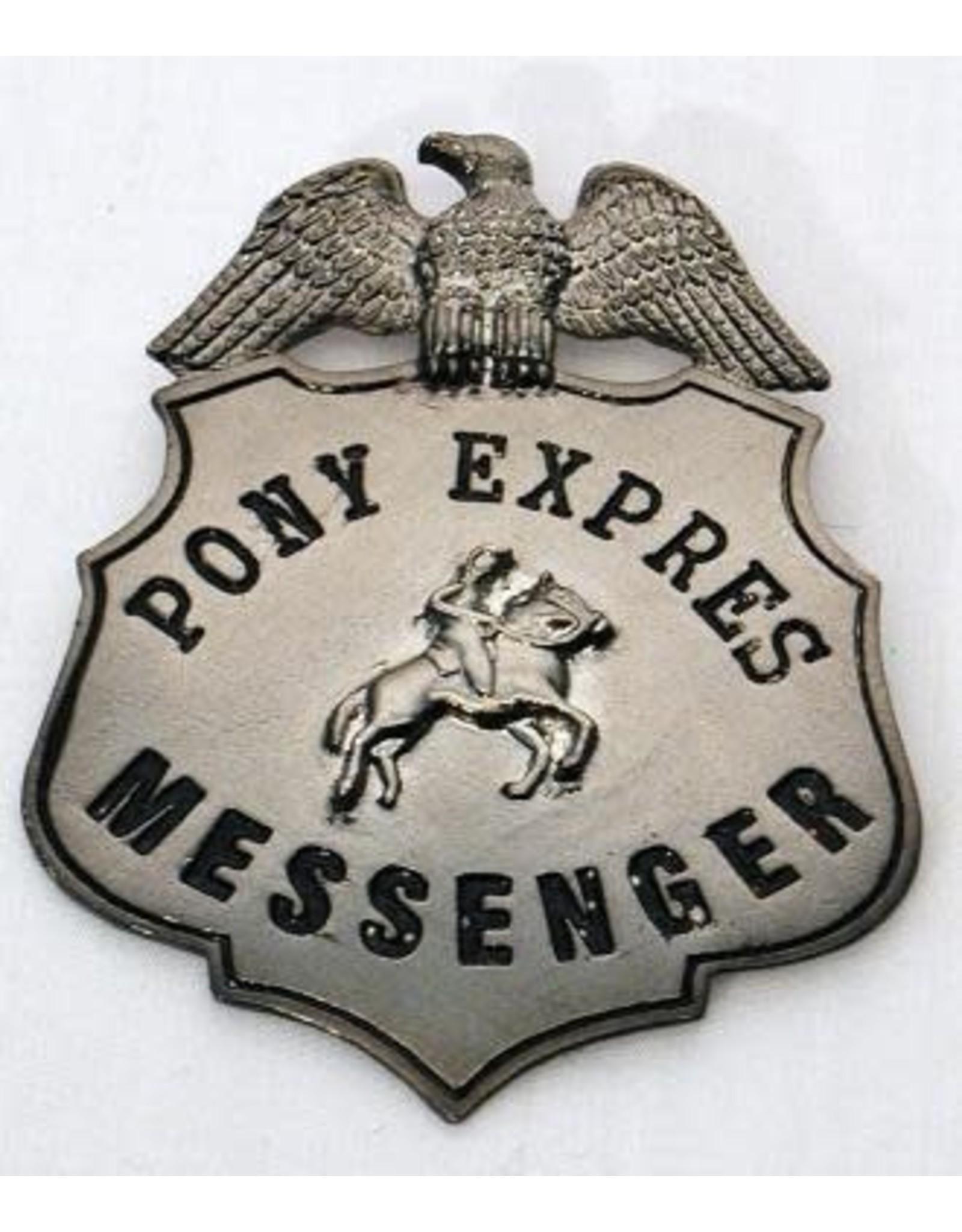 HM Smallwares Pony Express Badge