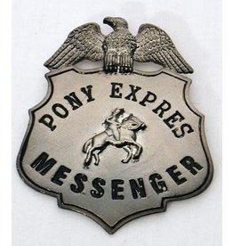 HM Smallwares Pony Express Badge