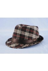 HM Smallwares Plaid Adora Fedora