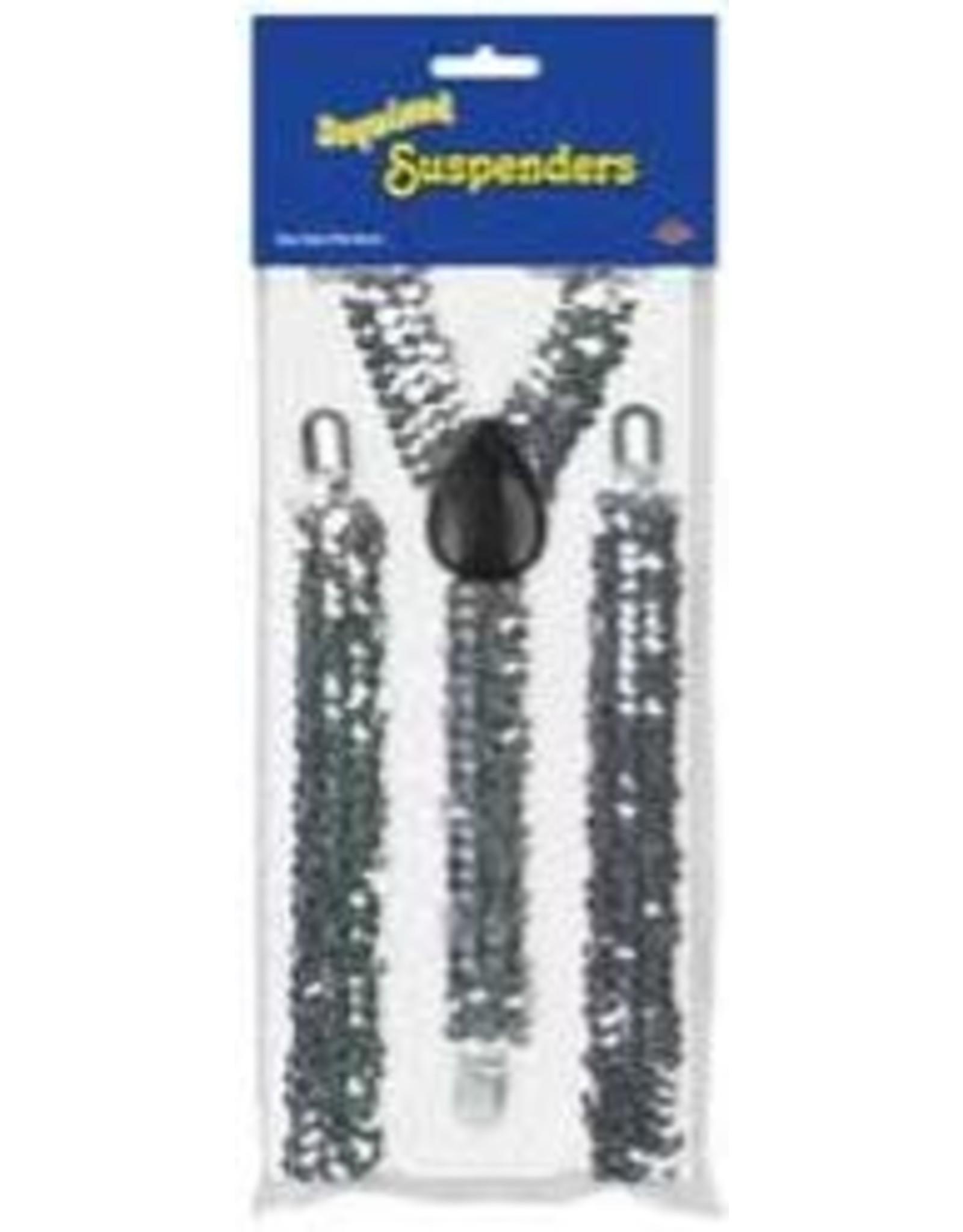 Beistle Sequin Suspenders