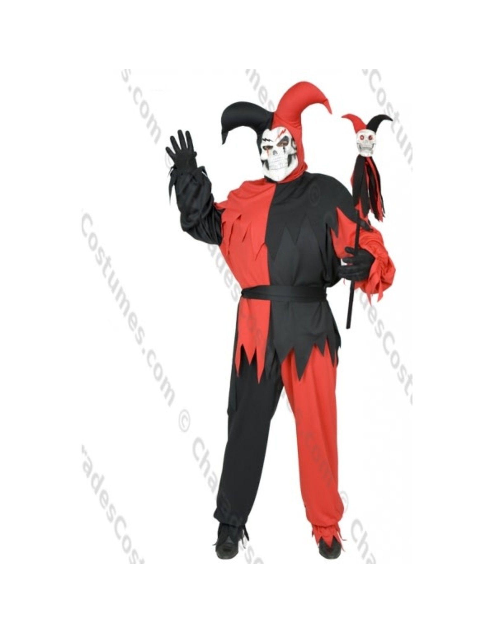 Charades Costumes Wicked Chamber Jester - Plus