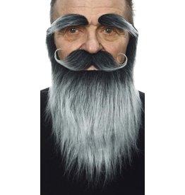 European Moustaches Moustache, Beard and Eyebrow Set