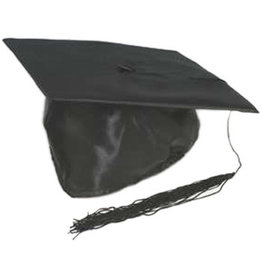 SKS Novelty Satin Grad Cap
