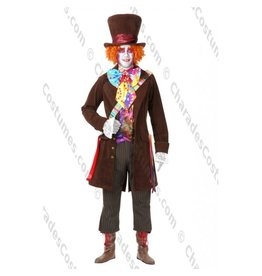 Charades Costumes Plus Size Electric Mad Hatter