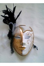 HM Smallwares Full Face Feather Mask
