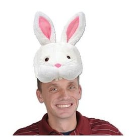 Beistle Bunny Head Hat